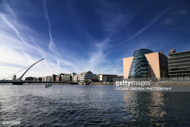The Samuel Beckett Bridge in Dublin.