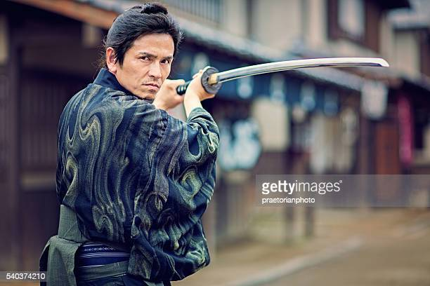 the samurai - warrior person stock photos and pictures