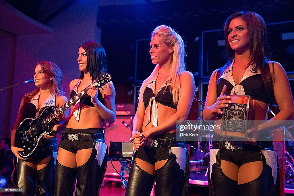 The San Antonio Spurs Silver Dancers attend the Jack Daniel's 'Live at the Landmark' concert series benefitting Silver & Black Give Back at the Pearl Stable on April 29, 2013 in San Antonio, Texas.