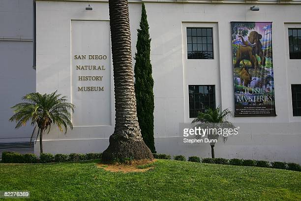The San Diego Museum of Natural History at Balboa Park on August 2 2008 in San Diego California