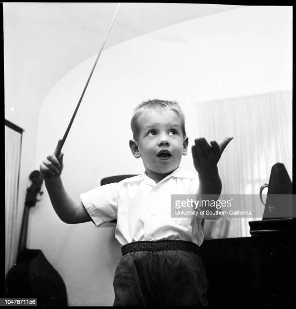 The San Fernando Valley Baby Orchestra 18 November 1956 Chuck LempesisSusan RanslowSally MarsilioBetsy Ann GoodmanGregory HeilmenSteve MarsilioSusie...