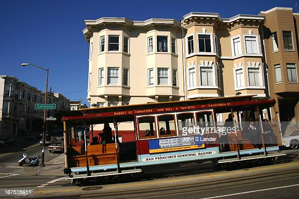 The San Francisco cable car system is the world's last manually operated cable car system and is an icon of San Francisco California The cable car...