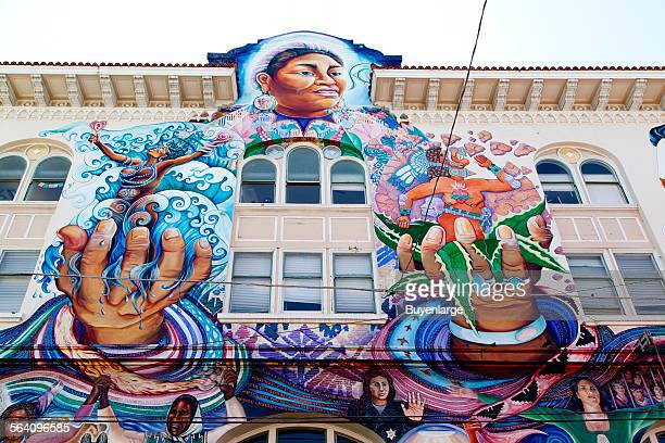 The San Francisco Women Building is a landmark internationally recognized for its mural MaestraPeace which honors women contributions around the world