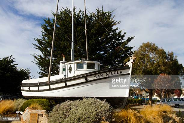 The San Nicola Wooden boat Monterey California USA