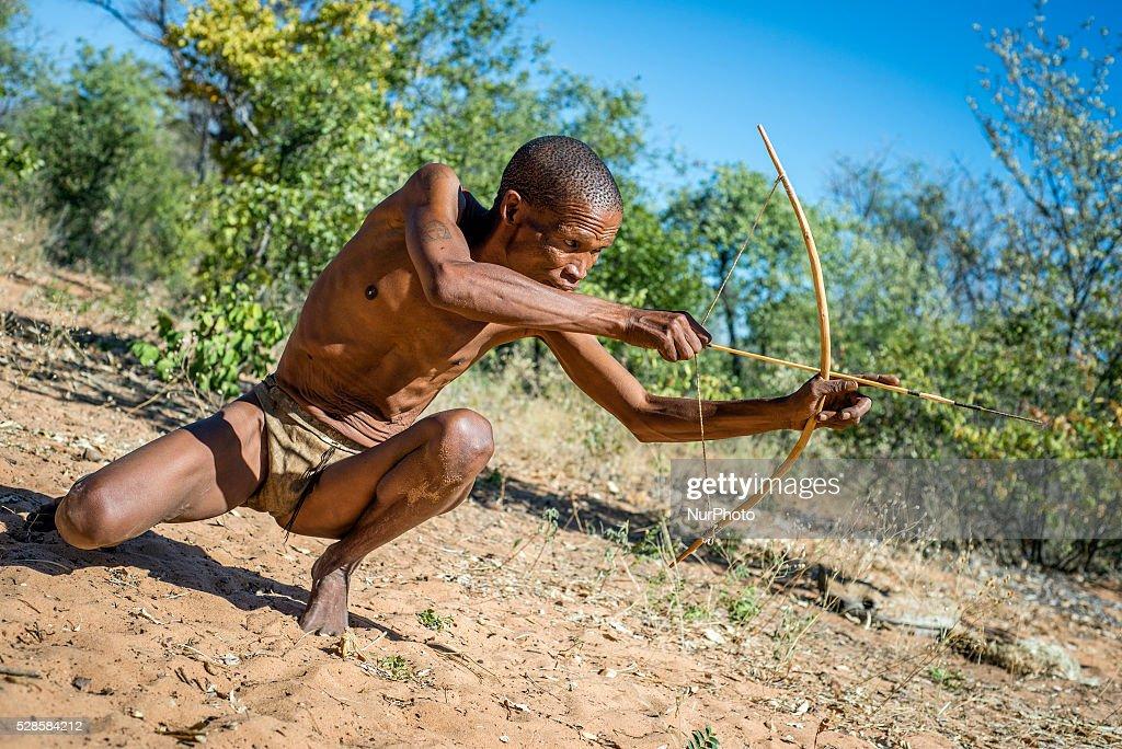 The San People of Namibia : News Photo
