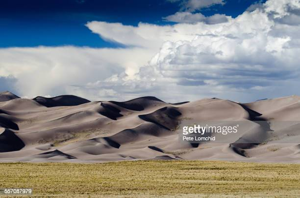 the sand dunes - great sand dunes national park stock pictures, royalty-free photos & images
