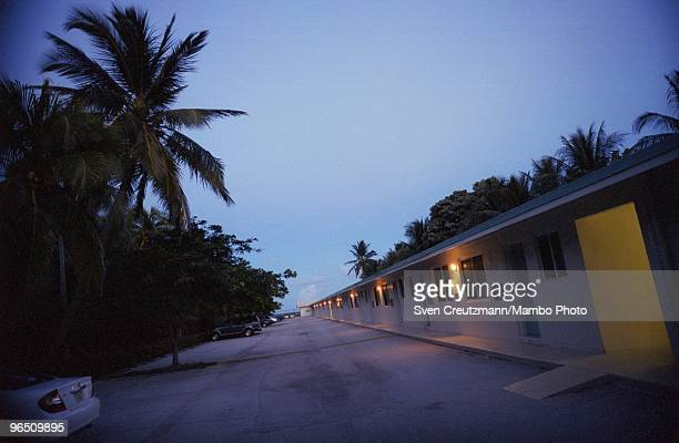 The Sand Inn motel in Key Biscayne where Gregory Hemingway went several times cross dressed on September 24 in Miami USA Gregory Hemingway son of...