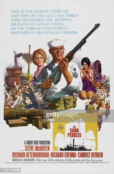 Candice Bergen Steve McQueen Marayat Andriane on poster art 1966