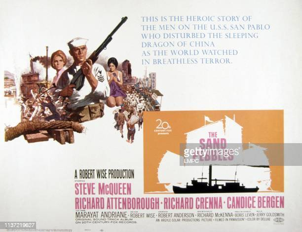 The Sand Pebbles poster US poster Candice Bergen Steve McQueen Marayat Andriane 1966