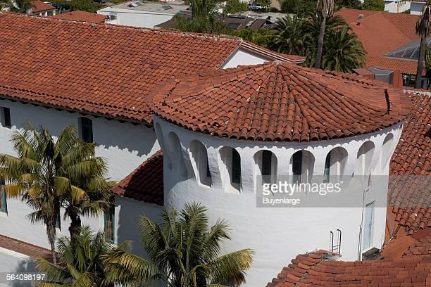The Santa Barbara County Courthouse Santa Barbara California