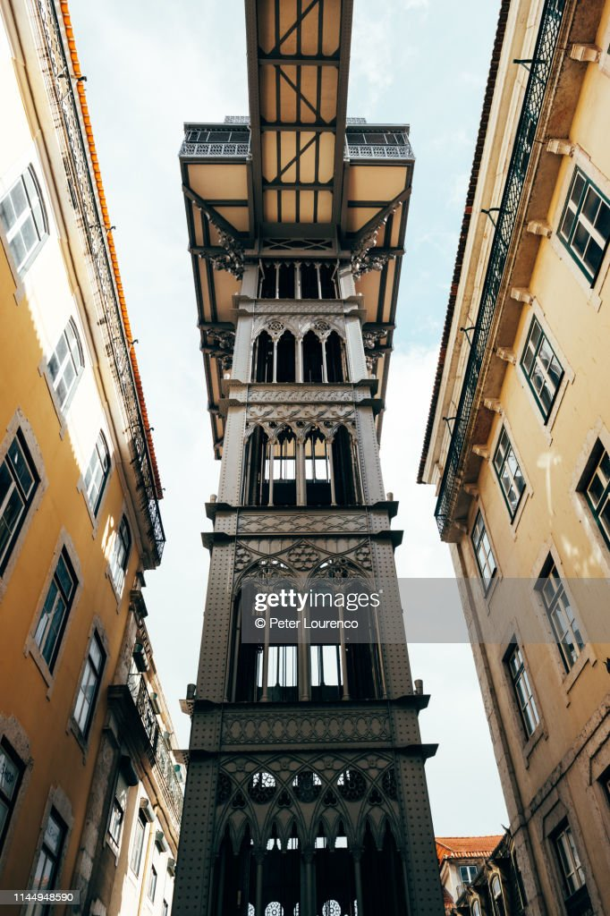 The Santa Justa Lift : Stock-Foto