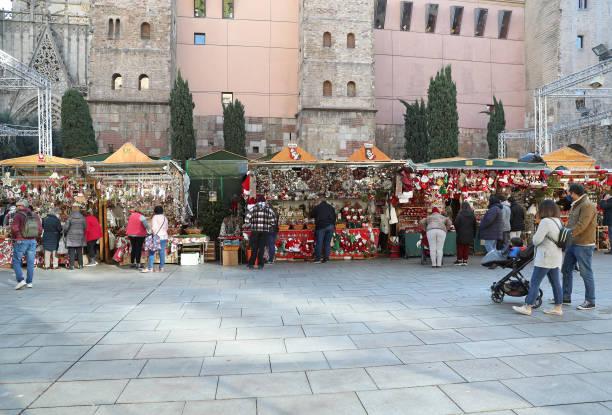 ESP: Christmas Fair In Barcelona