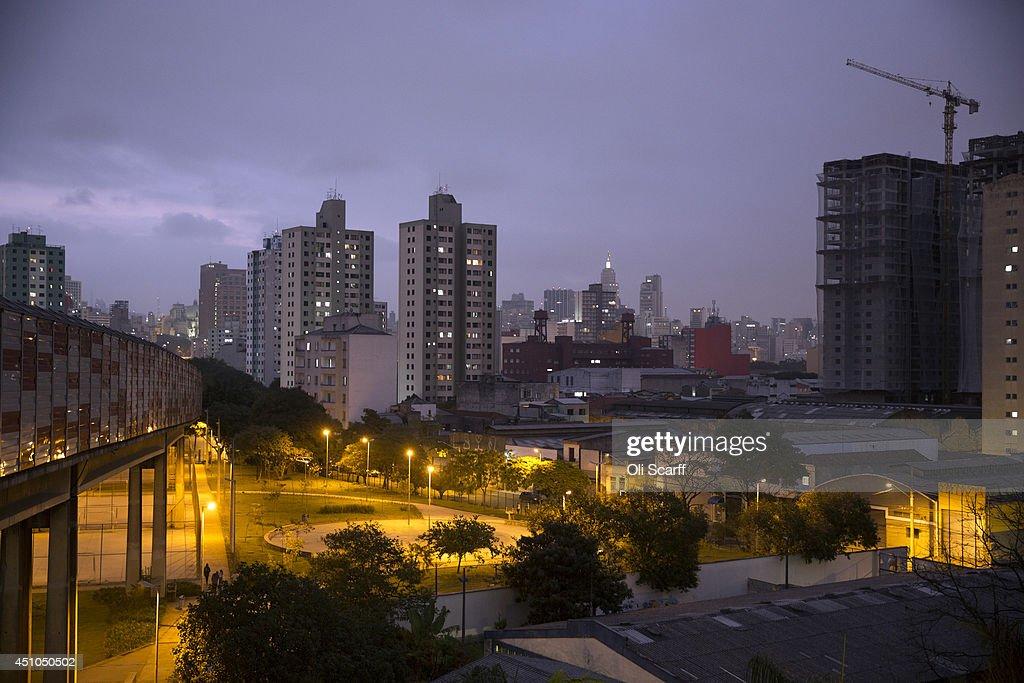 Daily Life in Sao Paulo : News Photo