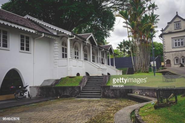 the sarawak state museum - sarawak state stock pictures, royalty-free photos & images