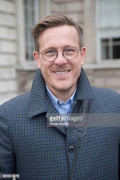 The Sartorialist photographer Scott Schuman on February 24 2015 in London England