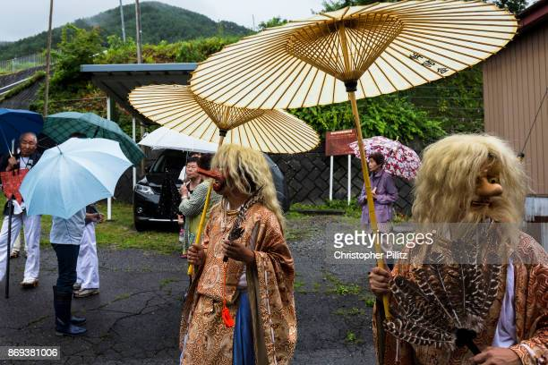 The Sarutahikonokami the role of these Kami are to guide the Mikoshi during the Summer Festival parade through the village of Kiso Mura As one theory...