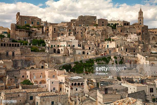 the sassi, matera, italy - matera italy stock pictures, royalty-free photos & images
