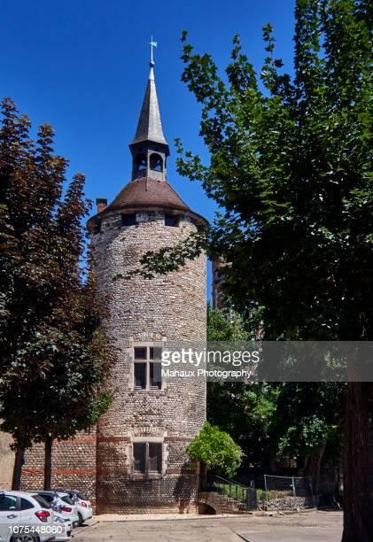 the saudon tower in chalon-sur-saône - シャロンシュルソーヌ ストックフォトと画像