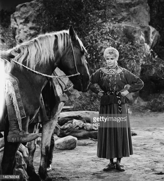 BONANZA 'The Savage' Episode 12 Pictured AnnaLisa as White Buffalo Woman/ Ruth Halversen Photo by NBC/NBCU Photo Bank
