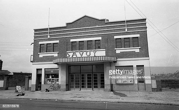 The Savoy Cinema in Balbriggan Co Dublin Circa June 1971