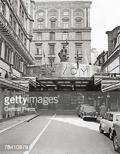 The Savoy Hotel on the Strand London 1963