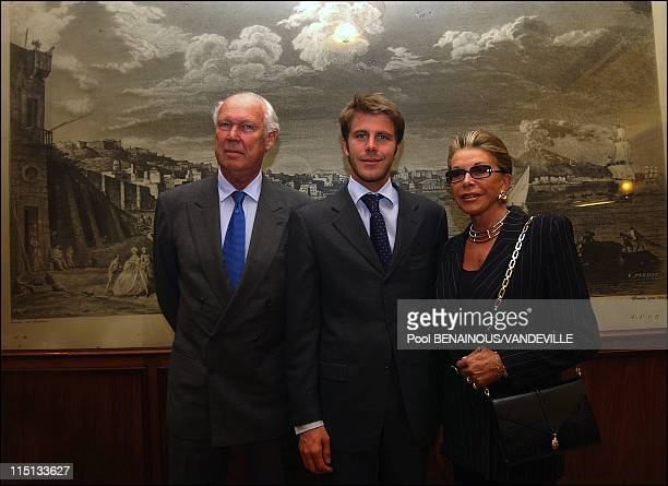 The Savoy royal family in Naples: Vittorio Emanuele of Savoy, the son of Italy's last king, returned to Italy with his wife Marina and their son...