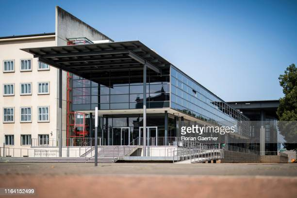 The Saxon parliament 'Saechsischer Landtag' is pictured on August 21 2019 in Dresden Germany