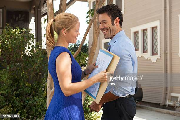 PARENTHOOD The Scale of Affection is Fluid Episode 605 Pictured Erika Christensen as Julie Braverman Coby Ryan McLaughlin as Chris
