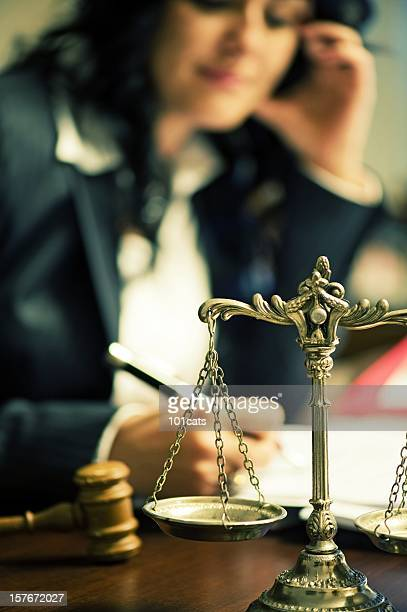 the scales of justice - employment law stock photos and pictures