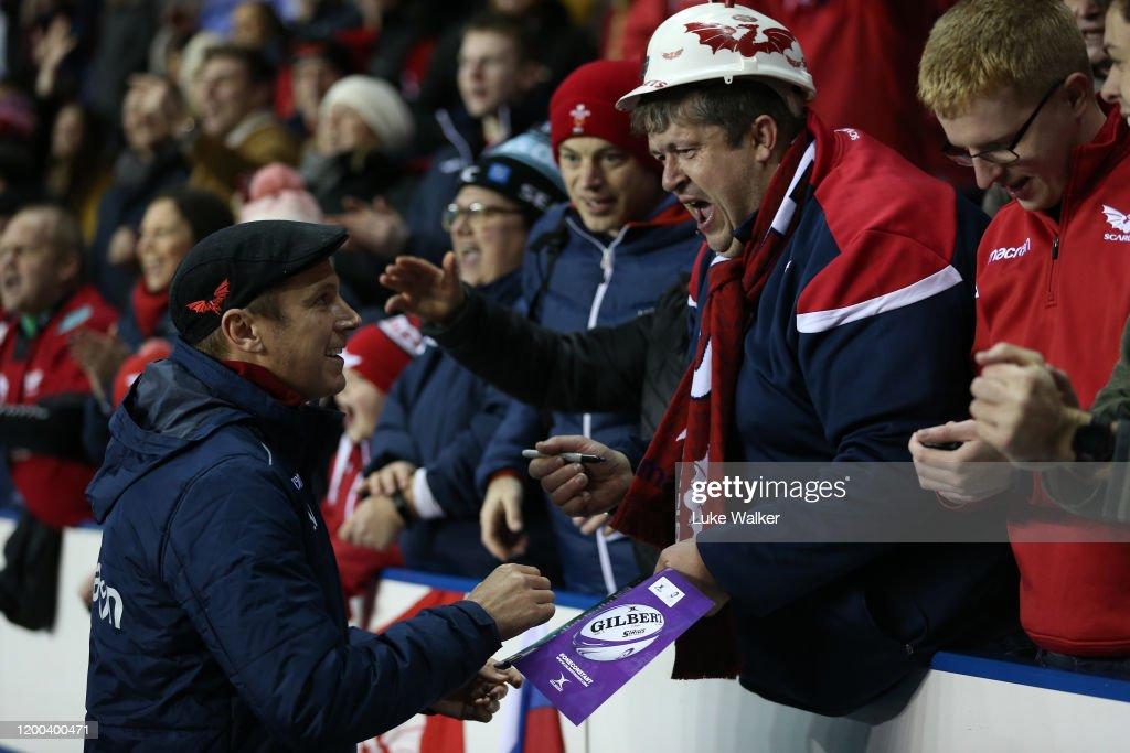 London Irish v Scarlets - European Rugby Challenge Cup : News Photo