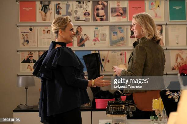 TYPE 'The Scarlett Letter' Episode 203 Pictured Melora Hardin as Jacqueline Carlyle Siobhan Murphy as Cleo Williams