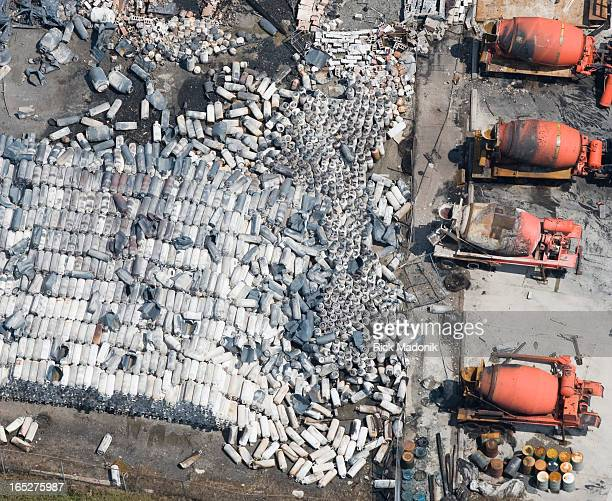 USE 4168694340 08/11/08 TORONTO ONTARIO 08/11/08 TORONTO ONTARIO The scarred earth following yesterday's fire at a propane company's facility in...