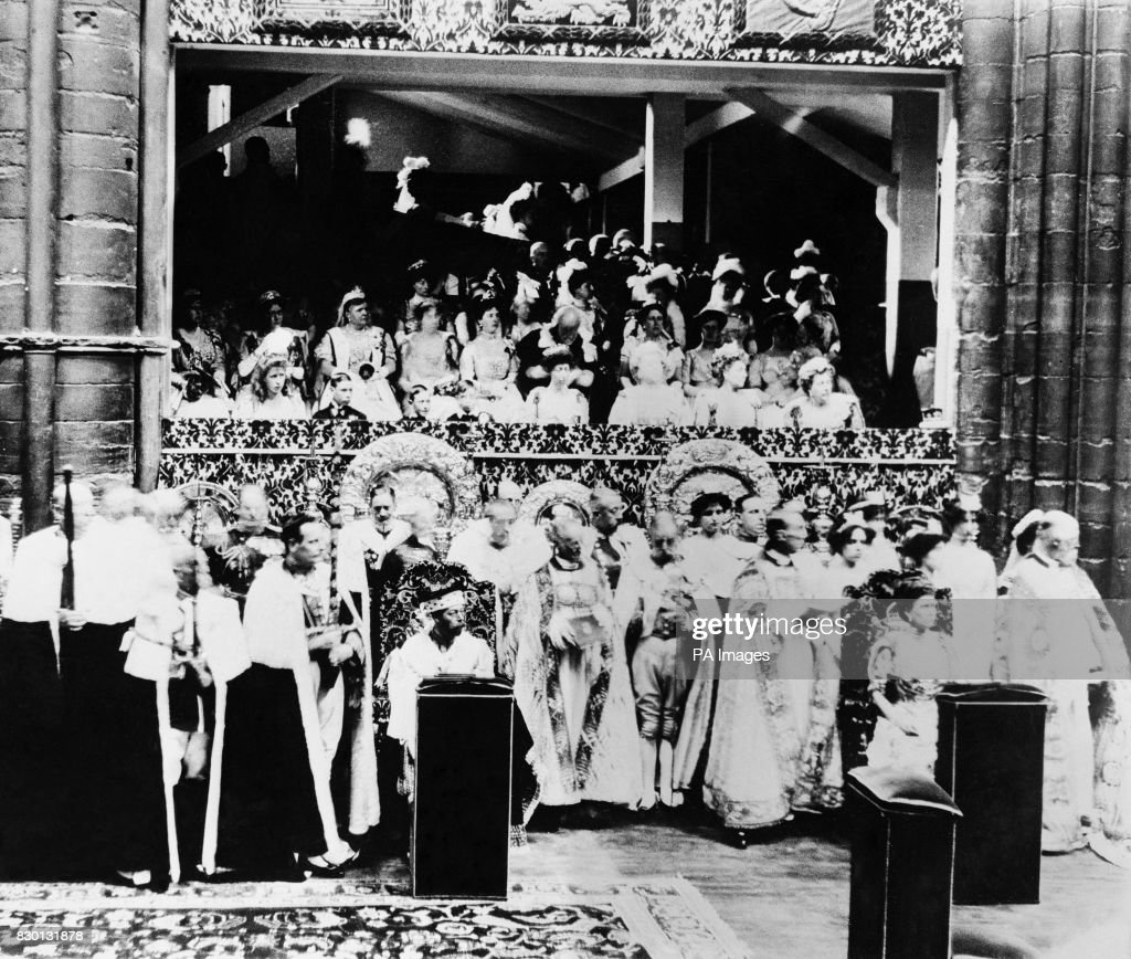 Royalty - Coronation of George V - London : News Photo