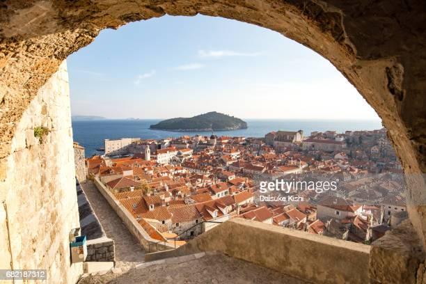 The Scenery of Dubrovnik, Croatia