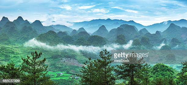 The scenery of Guangdong city of Qingyuan province Liannan County