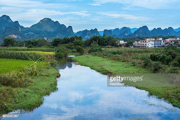 The scenery of Huanghua town,Qingyuan City,Guangdong Province,China