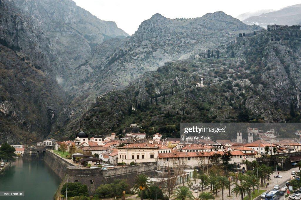 The Scenery of Kotor, Montenegro : Stock Photo