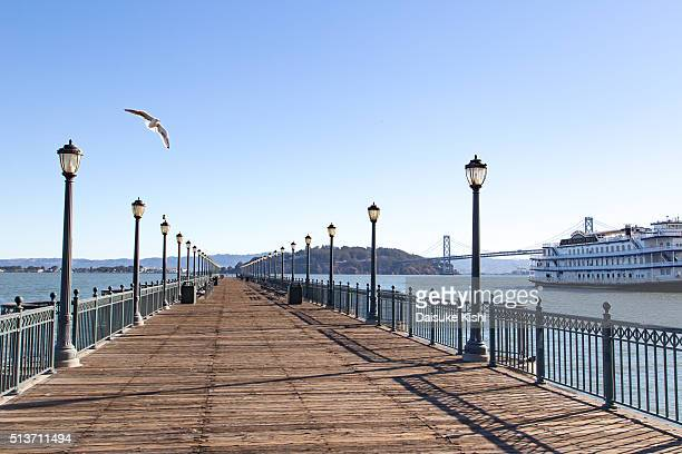 The scenery of Pier7 in San Francisco
