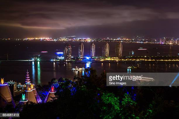 the scenery of sanya in hainan island - sanya stock pictures, royalty-free photos & images