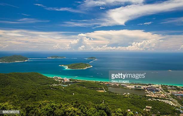 The Scenery of Sanya in Hainan Island