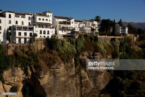 The scenic canyon El Tajo Gorge in Ronda