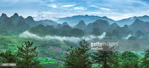 the scenic city of qingyuan province guangdong liannan county - provinz guangdong stock-fotos und bilder