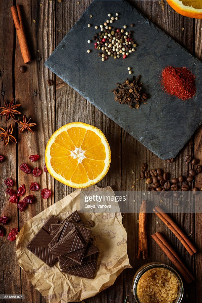 The Scent Of Christmas Stock Photo