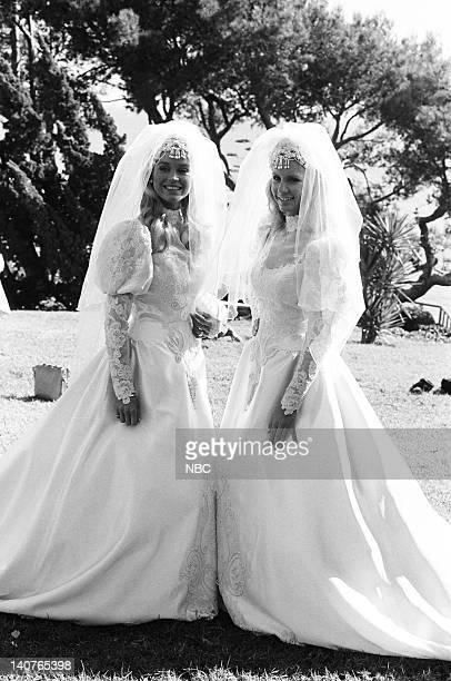 RIDER The Scent of Roses Episode 12 Pictured Catherine Hickland as Stevie Mason with her body double Photo by Paul Drinkwater/NBCU Photo Bank