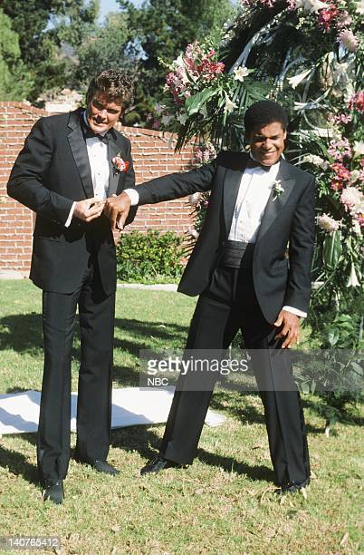 RIDER The Scent of Roses Episode 12 Pictured David Hasselhoff as Michael Knight Peter Parros as 'RC3' Reginald Cornelius III Photo by Paul...