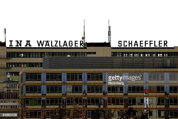 The Schaeffler Group headquarters stand in Herzogenaurach, Germany, on Monday, Sept. 28, 2009. Schaeffler owns 90.2 percent of Continental AG.