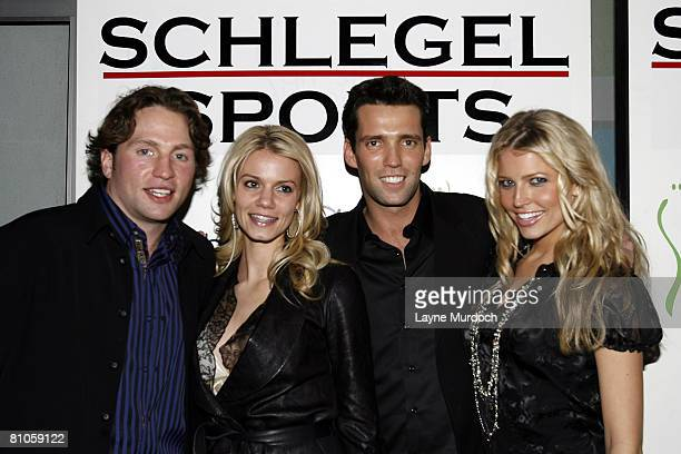 The Schlegel Sports Group hosts an NHL All Star Party party at the Ghost Bar in the W Hotel on January 23 2007 in Dallas Texas Pictured are Dallas...