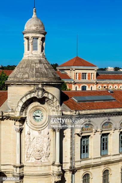 The school Alphonse Daudet, Nîmes,Gard,France
