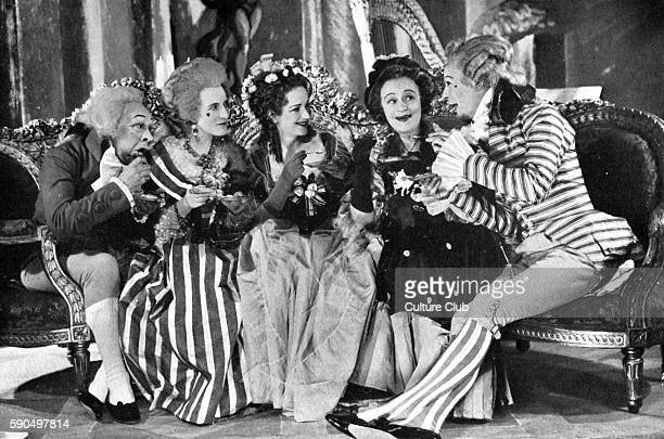 The School for Scandal by Richard Brinsley Sheridan. Performed at Queen's Theatre, London December 1937. Sir Benjamin: Nay, Lady Sneerwell, you are...