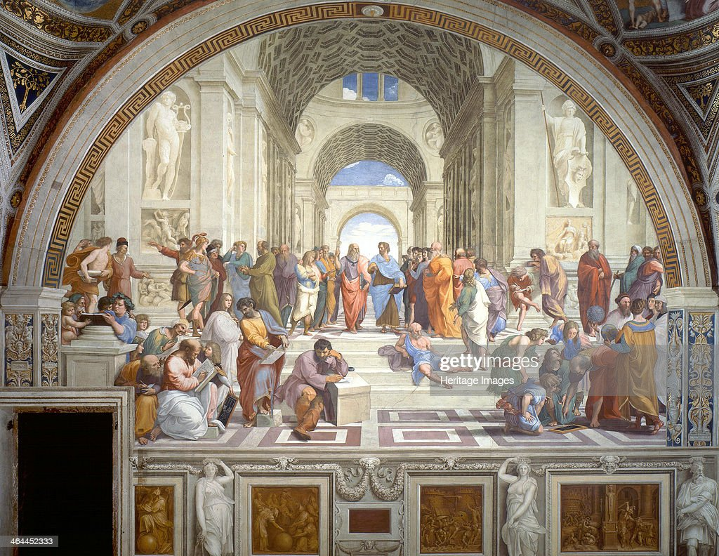 The School of Athens', 1509-1511. : News Photo